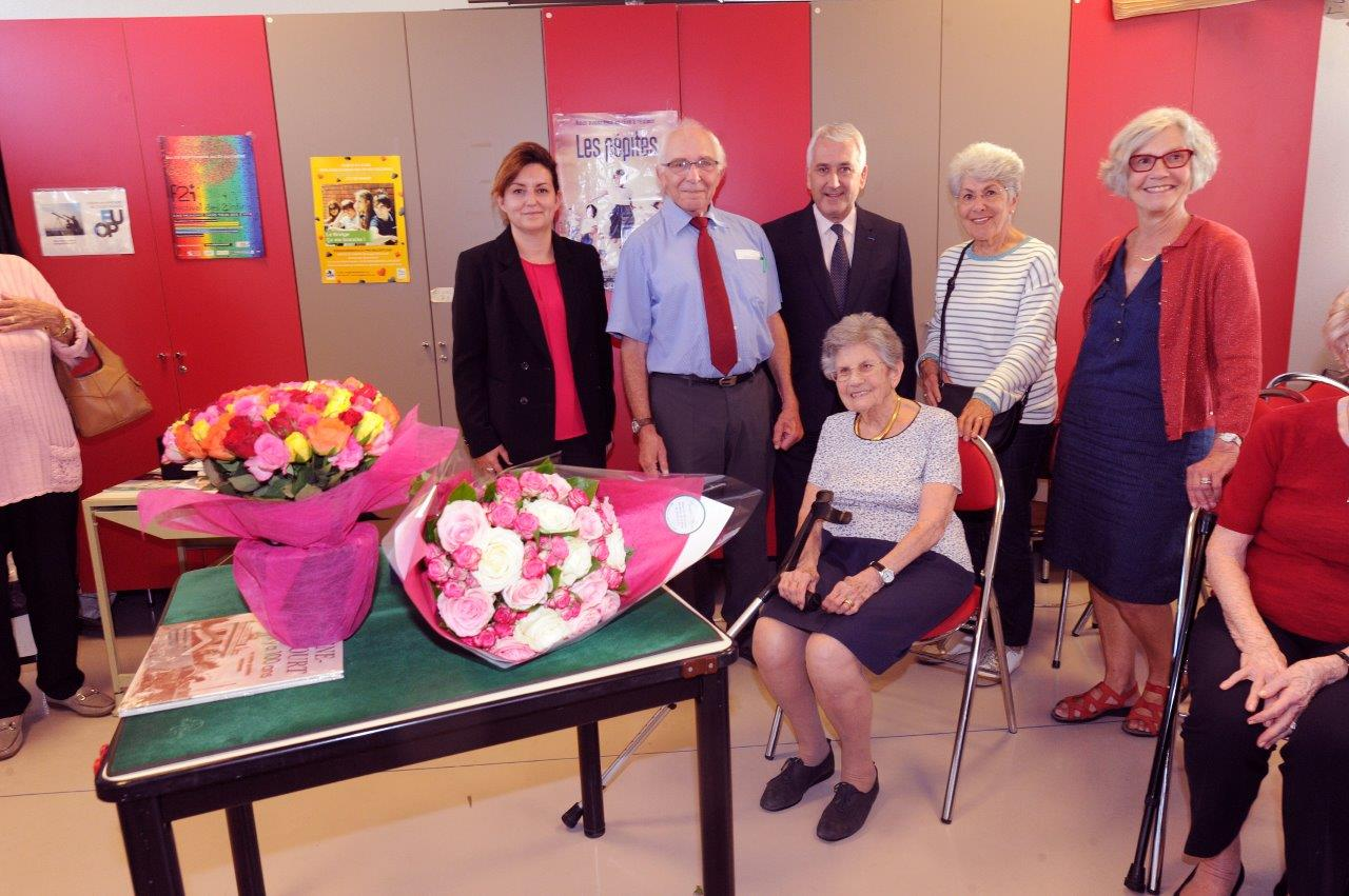 100 ans Mme SOLAL (1)